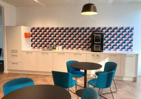 AXA Assurances Luxembourg - crédence cuisine - Place de l'Etoile