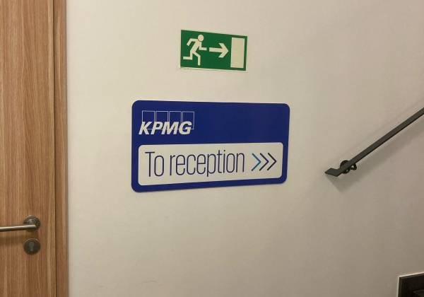 signaletique KPMG Luxembourg
