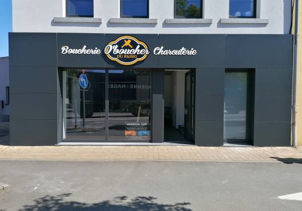 enseigne boucherie charcuterie luxembourg