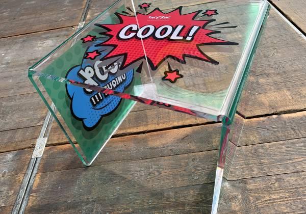 chaises plexiglass personnalisées sur mesure tac o tac steinfort