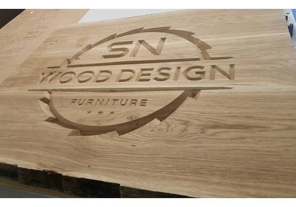 SN Wood Design gravure