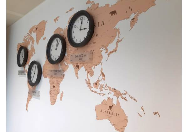 Horloges mondiales Docler Holding Kirchberg