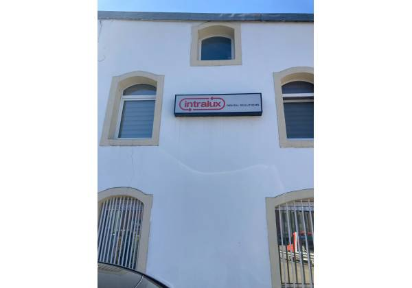 Signaletique INTRALUX Locations - Hollerich - Rue de Cessange