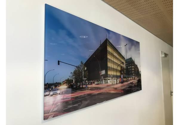 impression cadre photo boulevard de la foire luxembourg