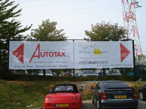 autotax bache impression steinfort luxembourg