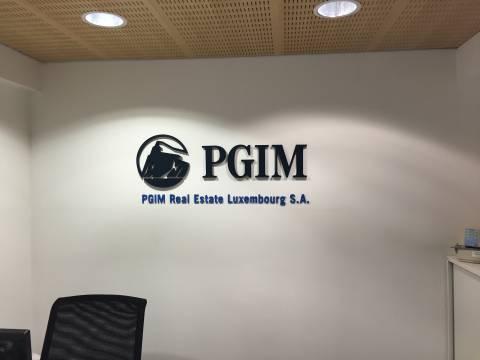 PGIM Real Estate Luxembourg S.A. plexiglass