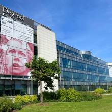 Degroof Petercam Luxembourg - Gasperich - vitres adhésif microperforé