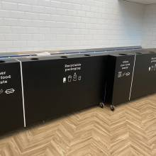 Sodexo Luxembourg - poubelles de tri