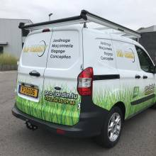 pro jardin lettrage vehicule steinfort luxembourg
