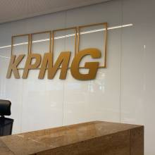 logo 3D KPMG Luxembourg Kirchberg