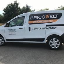 bricowelt lettrage voiture luxembourg