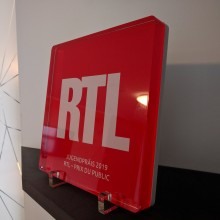 RTL Luxembourg trophée