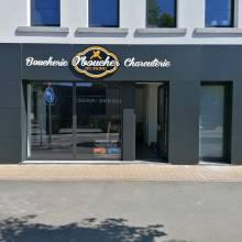 enseigne boucherie charcuterie luxembourg