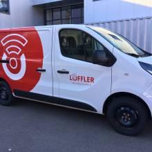 löffler loeffler vehicules lettrage by tacotac