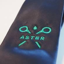 broderie chemise cravate aster steinfort